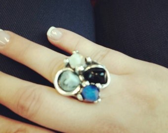 Zamak & resin ring