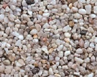 Natural Quartz Pebbles, 3 lbs