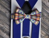 Baby Boy Suspenders and Bow Tie,Toddler Suspenders and Bow Tie Set,Baby Boy Tie.