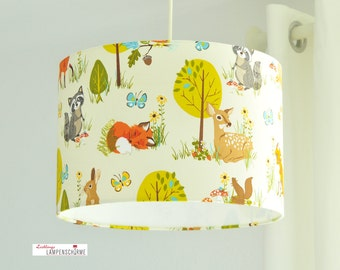Lampshade animals