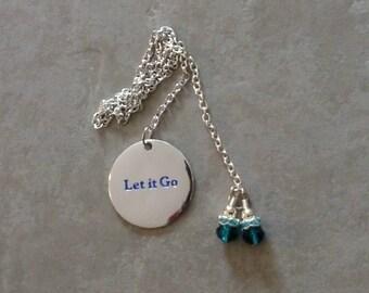 Frozen Inspired Let It Go~Bookmark Thong Bookmark