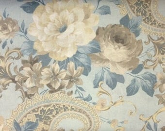Red Rooster Gatsby's Floral (PEONIES) 100% Premium Cotton Quilt Fabric - 1/2 yd
