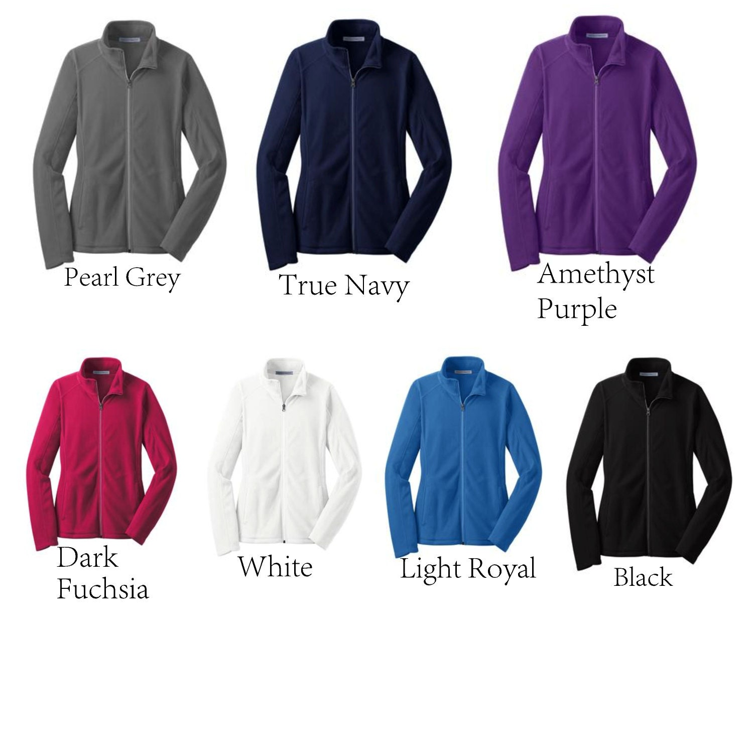 Image result for l223 fleece jacket color chart