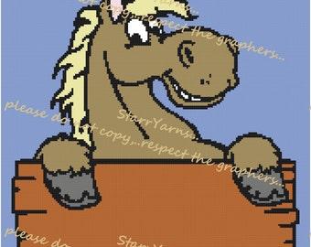 Horse Crochet Graph Pattern