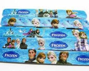 Frozen slap band