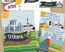 September {Come Follow Me} Why do we pay Tithing?  Teaching Package