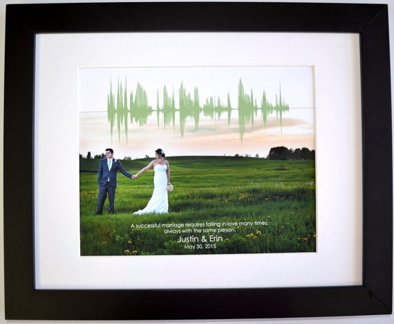 What Gift For 1st Wedding Anniversary: 1st Anniversary Gift For Men Personalized Wedding Photo First