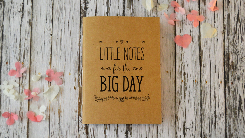 Wedding Journal Cute Bridal Notebook / Wedding Planner