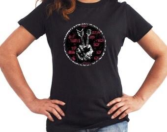 Guitar peace Women T-Shirt