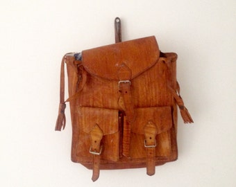 Vintage A4 Leather Bag Satchel