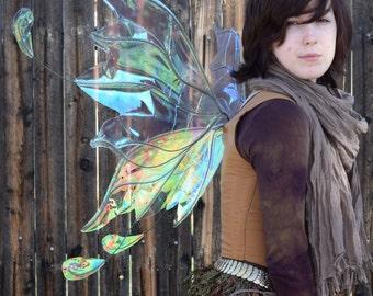 Medium/Large Iridescent Flighty Fairy Wings