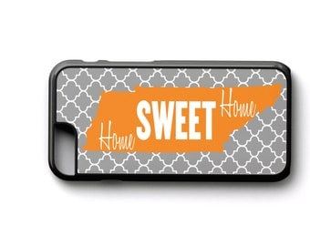 Quatrefoil Tennessee phone case phone cover iPhone Samsung Galaxy Samsung Note Home Sweet Home