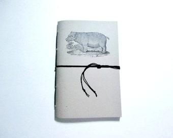 Hippo Journal, Lined Notebook, Graph Paper Notebook, Personalized Journal, Hippo Notebook, Cute Notebook, Writing Journal, Custom Notebook