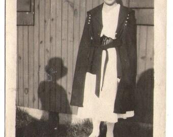 Vintage Photograph, Unusual Photograph, Vintage Paper Ephemera, Found Photo, Vintage Snapshot