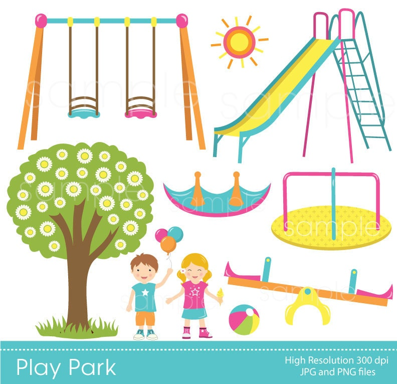 Clip Art Playground Clipart playground clipart etsy play park swings ride clp art only for personal use
