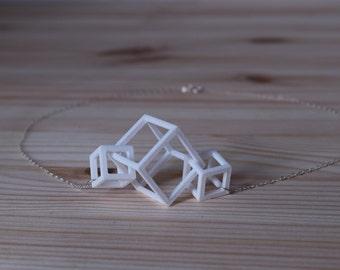 Center Necklace - Mini - Geometric Statement Jewelry - 3D Printed