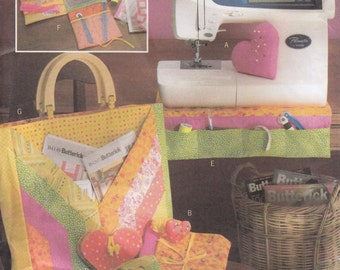 Butterick B4476 Fat Quarters Sewing Accessories Sewing Pattern - Home Decor Sewing Pattern - Uncut Sewing Pattern - Crafts Sewing Pattern