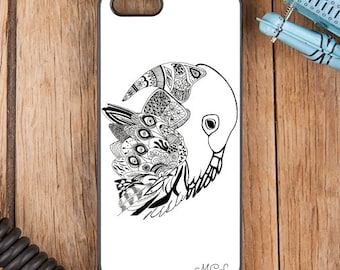 Tribal Parrot Phone Cover for iPhone 6/6s 6 Plus iPhone 5 5s 5c 4 4s Samsung Galaxy s6 s5 s4 & s3