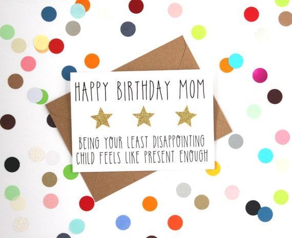 funny mum birthday card funny mom birthday card happy, Birthday card