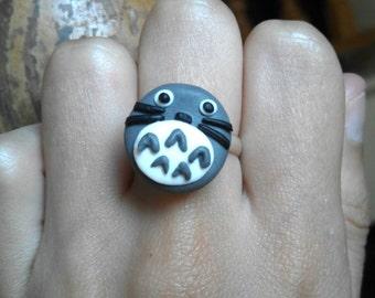 Totoro Adjustable Ring Studio Ghibli