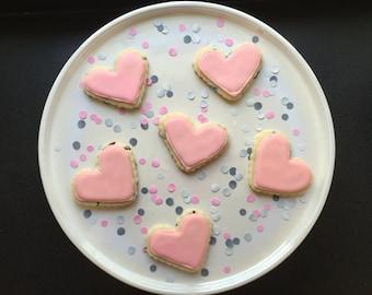 12 Mini Shape Cookies