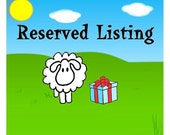 Reserved Listing for Candace