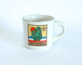 Vintage 1973 National Scout Jamboree Souvenir Mug