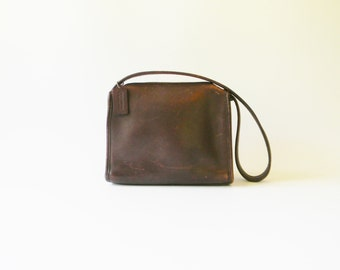 Vintage COACH Brown Leather Purse