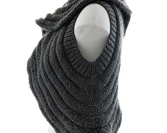 PDF Knitting Pattern - SOUNDWAVE - Fluid knitted vest