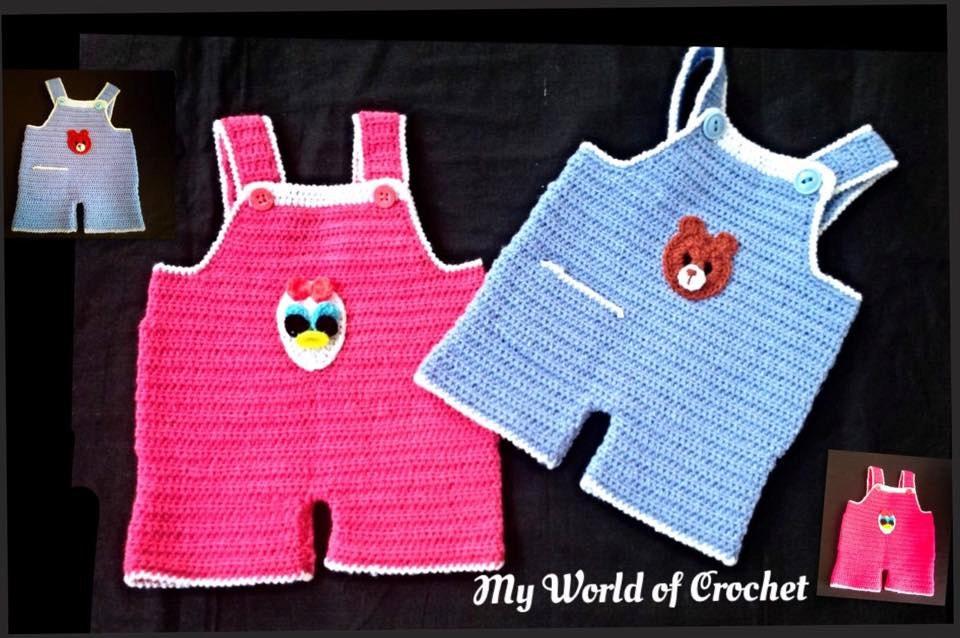 Crochet Baby Boy Overalls Patterns Patterns Kid