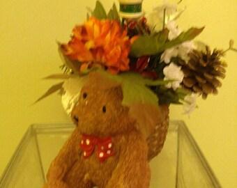 Christmas Teddy Bear Arrangement