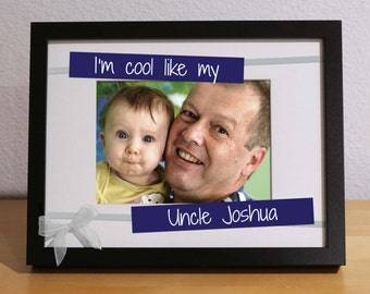 uncle nephew gift uncle birthday gift favorite uncle personalized gift custom frame soon to be uncle uncle to be gift aunt and uncle