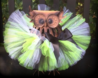 Toddler Tutu, Neon Yellow and Black Tutu, Baby Tutu, Infant Tutu, Newborn Tutu, Bumblebee Tutu, Halloween Tutu, Yellow Tutu, Tulle Tutu