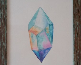 Watercolor Crystal
