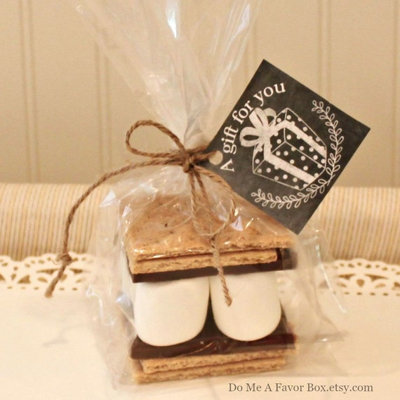 Wedding Favor Tag Kit : mores Favor Kits 12 Smores Party Favor Kits