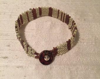 Bracelets with toho beads
