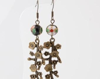 Sakura Earrings Sakura stud earrings Spring earrings Girlfriend gift Floral Earring Flower Earring Cherry Blossom Earring