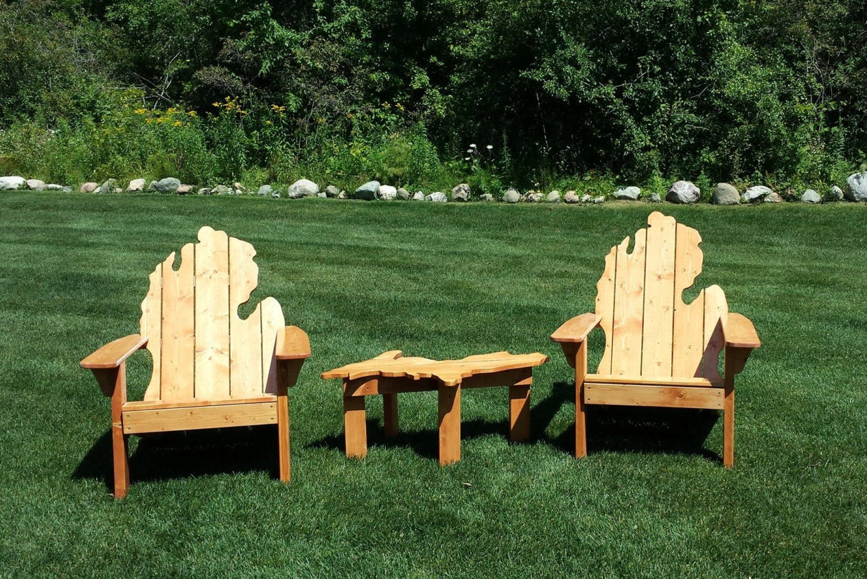 michigan adirondack chair local pick up only source outdoor furniture napa bar side d