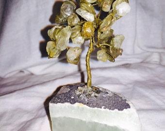 Calcite Wire Tree