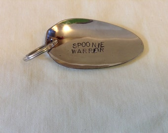 Customizable Spoonie Keychain, with Charms available