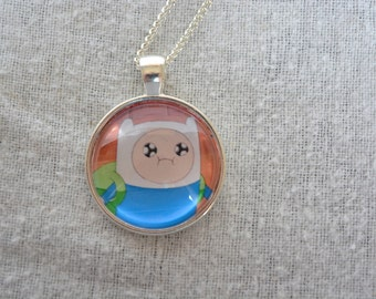Finn The Human / Finn Mertens - Adventure Time Necklace