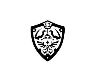 Hylian Shield From Legend of Zelda Decal