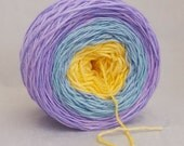 Carribean Queen Hand-dyed Gradient Merino Wool 436 Yards