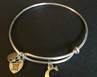 C Charm Bracelet