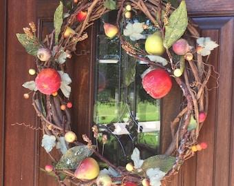 Apple Vine Wreath