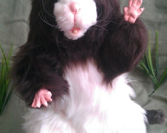 Dusty the Rat Poseable Art Doll