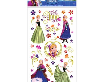 Anna Stickers - Disney Frozen Stickers - Jolee's ek Success Brands
