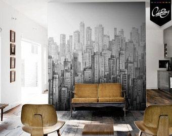 City Wall Mural