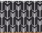 Premier Prints Arrow in Black Home Decor fabric, 1 yard