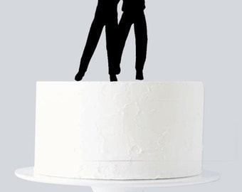 Gay Wedding Cake Topper A192